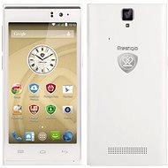 Prestigio MultiPhone 5455 DUO bílý