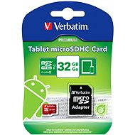 Verbatim Micro SDHC 32GB Mobile UHS-1 Class 10 + SD adaptér