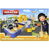 IGRÁČEK - Poštovní úřednice s poštou a doplňky