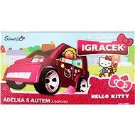 IGRÁČEK & HELLO KITTY - Adélka s autem a doplňky