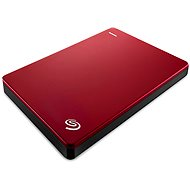 Seagate BackUp Plus Portable 1000GB červený