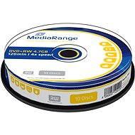 MediaRange DVD+RW 10ks cakebox