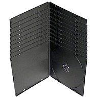 Krabička slim na 1ks - černá, 10pack