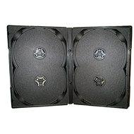 Krabička na 4ks - černá, 14mm, 10pack