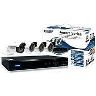 KGUARD 8-kanálový rekordér DVR + 4x kamera