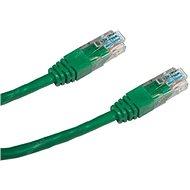 Datacom, CAT5E, UTP, 2m, zelený
