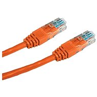 Datacom, CAT5E, UTP, 2m, oranžový