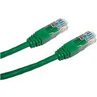 Datacom, CAT5E, UTP, 0.25m, zelený