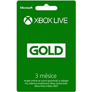 Microsoft Xbox 360 Live 3 Month Gold Membership Card
