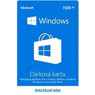 Microsoft Windows Gift Card 1500 CZK