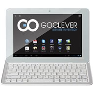 "GoClever TAB R105BK 10.1"" bílý + BT klávesnice"