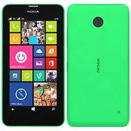 Nokia Lumia 630 zářivě zelená Dual SIM + černý zadní kryt