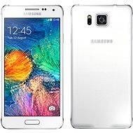 Samsung Galaxy Alpha (SM-G850F) Dazzling White