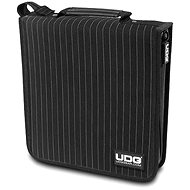 UDG Ultimate CD Wallet 128 Black/grey stripe