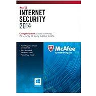 McAfee Internet Security 2014 1PC CZ