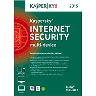 Kaspersky Internet Security multi-device 2015 CZ pro 1 zařízení na 36 měsíců